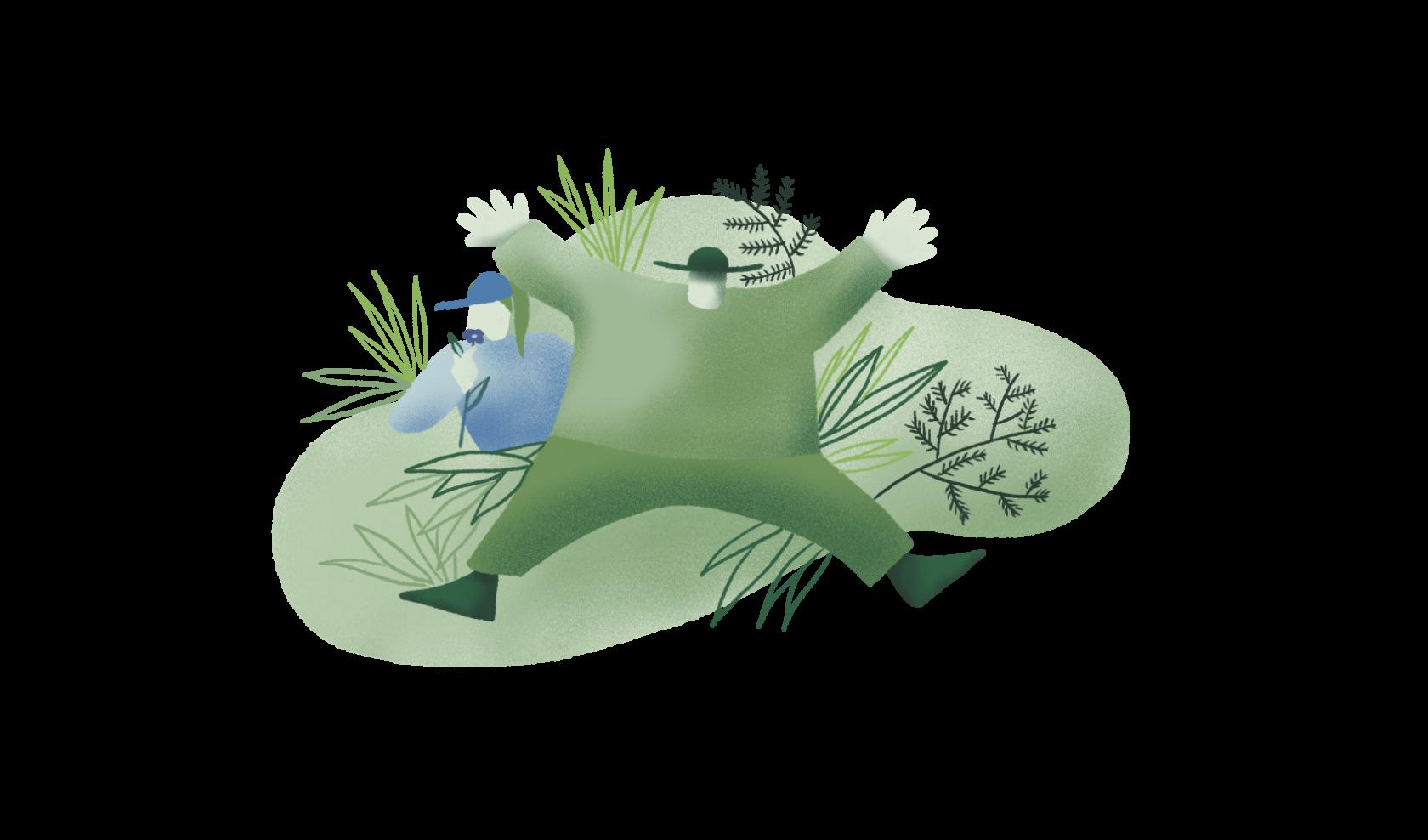 gozdna kopel